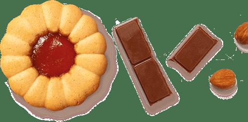 Cvet čokolada i lešnici