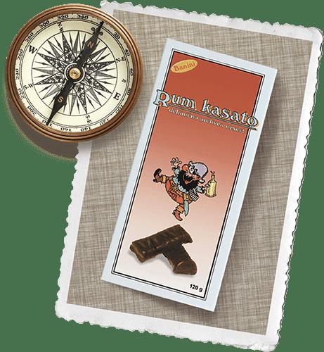 Kasato kompas i prvo pakovanje