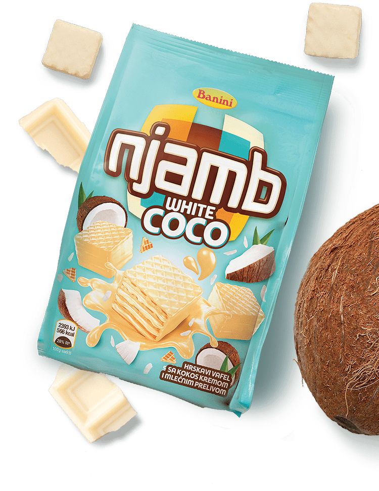 Njamb white choco