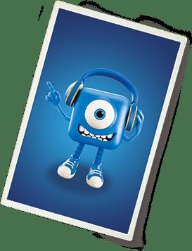 Plavi gari kartica